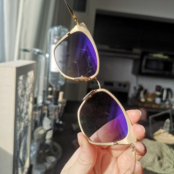 Gold Dita Sunglasses